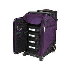 "Found it at Wayfair - Zuca Pro Artis 19.5"" Suitcase - Color: Royal Purple / Blackhttp://www.wayfair.com/Zuca-Pro-Artis-19.5-Suitcase-G_1015-ZUCA1039.html?refid=SBP.rBAZEVSGGsSPWRa_GHONAnACjXplLUzknQZ6hJChKzo"