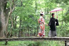 下鴨神社の結婚式撮影|結婚写真のムラタフォトワークス