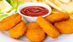 Nugget de frango caseiro, faça você mesmo na sua casa, fácil, simples e  econômico. Veja a receita na integra e saboreie essa delicia.  http://cakepot.com.br/nugget-de-frango-caseiro/