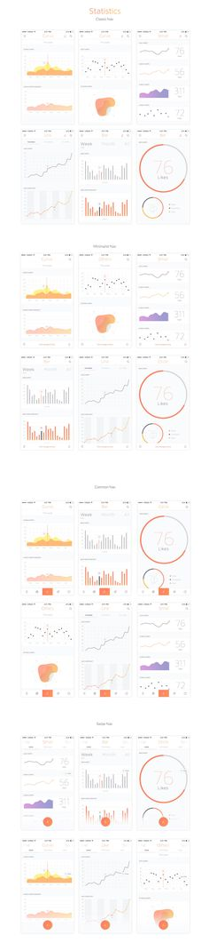 Livo UI Kit for Sketch & Photoshop is a modern, stylish, and intuitive kit for creating your app! This UI Kit contains more than 210 elaborate mobile screens in 8 categories. Each screen is fully customizable, & exceptionally easy to use! Dashboard Design, App Ui Design, User Interface Design, Graphisches Design, Graph Design, Chart Design, Flow Design, Ui Kit, Wireframe