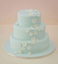 Falling Daisy's Wedding Cake <3