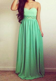 bridesmaid dress. In a diff color?