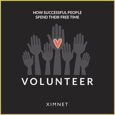 4. They Volunteer. Volunteering, no matter where or how you do it, is beneficial for you and your community.  Whether you're helping to clean up a highway, working in a soup kitchen, or providing mentorship to a group of young professionals, your time goes a long way toward improving the community around you.  #success #habit #volunteer #dogood #happiness