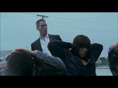 Lucky you got little bitch feet! Hahaha! Harsh Times, Christian Bale (Fight scene)