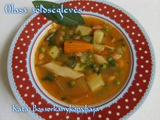 Olasz zöldségleves | Scriptum receptje - Cookpad receptek Cantaloupe, Soup, Fruit, Ethnic Recipes, Soups