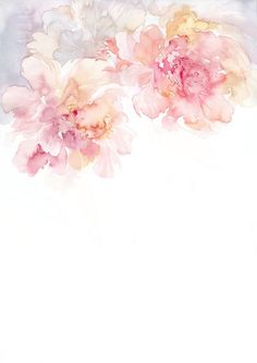 Wallpaper for iphone. discovered by elin hong. find images and videos about pink and watercolor on we heart Flower Wallpaper, Pattern Wallpaper, Wallpaper Backgrounds, Iphone Wallpaper, Vintage Flower Backgrounds, Watercolor Wallpaper Iphone, Watercolor Flowers, Watercolor Art, Watercolor Pattern