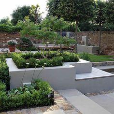 Multi Level Linear Garden Hertfordshire