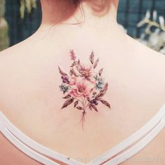 Floral back piece by Handitrip