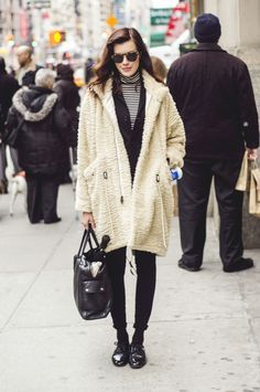 #winter #coat #streetstyle