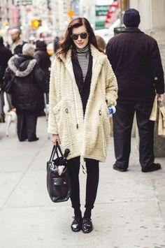 #winter #coat #streetstyle