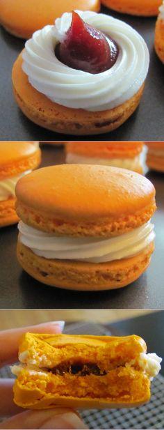 My Cream Cheese Guava French Macarons recipe. So yummy!
