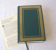 Vintage Charles Dickens Pickwick Papers Hardcover Book Dickens