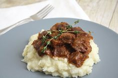 Carbonnade: Belgian Beef, Beer & Onion Stew by Tracey's Culinary Adventures, via Flickr