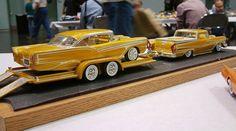 Custom 57 Ford and Ranchero