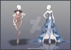 DeviantArt: More Like (CLOSED) Adoptable Outfit Auction 164-165 by Risoluce