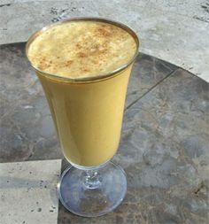 The Perfect Vanilla Pumpkin Smoothie Recipe- A Quick & Nutritious Recipe #fall #drinkrecipe