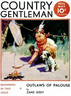 Country Gentleman - 1934-05-01: Weiner Roast (Henry Hintermeister)