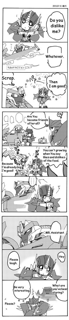 Chimi Optimus and BREAKDOWN 3 in English by ogata-dragon-fight on DeviantArt