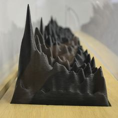 IDEA: An audio waves sculpture of the human voice 3D preserves history. WHAT: This 3D printed sculpture, is a three-dimensional spectrogram of the voice of Neil Gershenfeld, American physicist and...