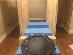 Ninja Warrior Course, American Ninja Warrior, Backyard Obstacle Course, Jumping Spider, Playground, Basement, Party, Diy, Children Playground