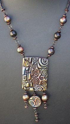 necklace - 2005 by polymerclaybeads, via Flickr