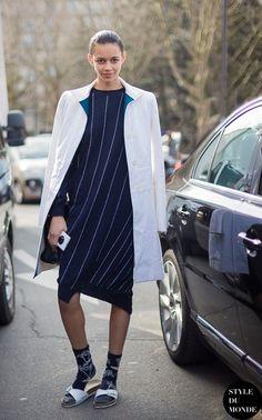 Meias para um visual fashionista - Moda que Rima