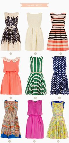 Adorable and Beautiful Part Dresses!