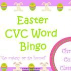 This collection contains a class set of 25 CVC word bingo cards featuring cute Easter graphics.  You print the number you need. Christys Cutesy Cl...