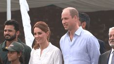 The Duke and Duchess of Cambridge visited the National Cricket Academy during day four of their royal tour of Pakistan in Lahore, Pakistan. Princess Kate, Princess Charlotte, William Kate, Prince William, Duchess Kate, Duke And Duchess, Catherine The Great, Duke Of Cambridge, Janet Jackson
