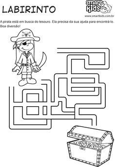 atividades com labirintos para imprimir - Pesquisa Google