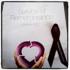 Day 10 | The best (most important) bit of my weekend | Service for organ donors, recipients and their families and friends