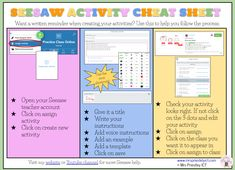 Over the past week I have been creating Seesaw cheat sheets for educators! One page help tips on using Seesaw and their tools! Teaching Technology, Educational Technology, Technology Integration, 2nd Grade Teacher, Math Addition, Home Learning, Beginning Of School, Google Classroom, Cheat Sheets