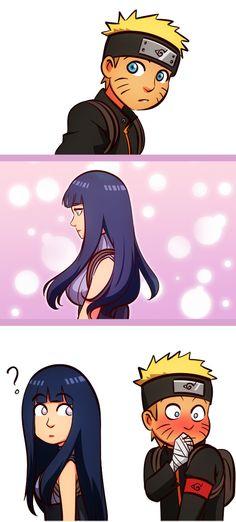 Naruto - Naruto and Hinata Anime Naruto, Naruto Comic, Hinata Hyuga, Naruto Shippuden Anime, Otaku Anime, Manga Anime, Naruhina Doujinshi, Sasuhina, Power Rangers