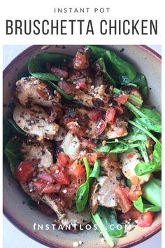 Instant Pot Bruschetta Chicken