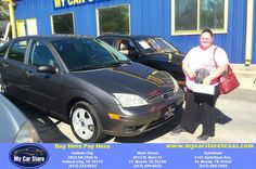 Congratulations Andrea on your #Ford #Focus from Lee Martinez at My Car Store Buy Here Pay Here!  https://deliverymaxx.com/DealerReviews.aspx?DealerCode=YOGM  #MyCarStoreBuyHerePayHere