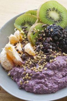 Buckwheat and Maqui Berry Porridge | raw, vegan, gluten-free, refined sugar-free, vitamix