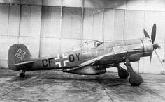 Fw 190 fitted with large calibre cannon