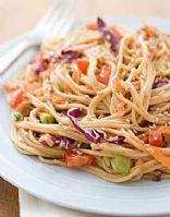 Miracle Noodle Sesame Noodles..i really want to try miracle noodles