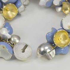 Victoria Yez - bead clasp - Enamelist Society Activities - Exhibitions