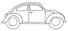 vwbug template Free VW Bug Pattern download