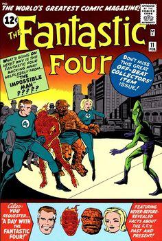 Fantastic Four Issue # 1 (Marvel Comics) Comic Book Pages, Comic Book Artists, Comic Book Covers, Comic Book Characters, Comic Character, Marvel Characters, Marvel Comic Books, Comic Books Art, Comic Art