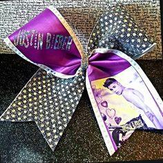 Justin bieber cheer bow @Lauren Howard