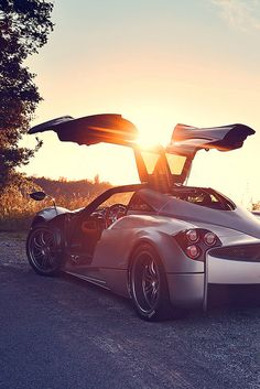 ♂ Pagani Huayra by Dean Smith #sunset #cars #vehicle