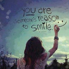❥ You are someone's reason to Smile :)