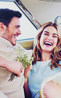 Richard Madden & Lily James