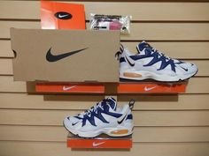 DS Men's Nike OG Air Max Tailwind 1997 104067-141 White Pro Blue Gold sz 9.5 95 #Nike #AthleticSneakers