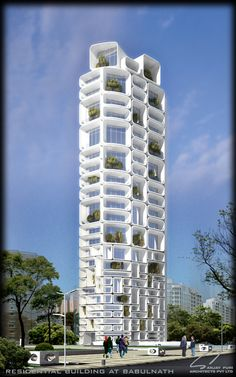 Sanjay Puri Architects - Mumbai // Get to know more Architecture Projects > Architecture Antique, Futuristic Architecture, Facade Architecture, Beautiful Architecture, Contemporary Architecture, Futuristic City, Sustainable Architecture, Unusual Buildings, Interesting Buildings