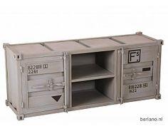 Metalen Kast Leger : 16 beste afbeeldingen van container look kasten canisters