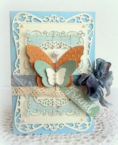 Created by Melissa for the Simon Says stamp Wednesday challenge (Emboss It) July 2014