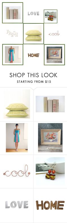 """Fresh Cool Finds"" by throwitforward ❤ liked on Polyvore featuring interior, interiors, interior design, home, home decor, interior decorating, Umbra, M&Co, vintage and etsy"